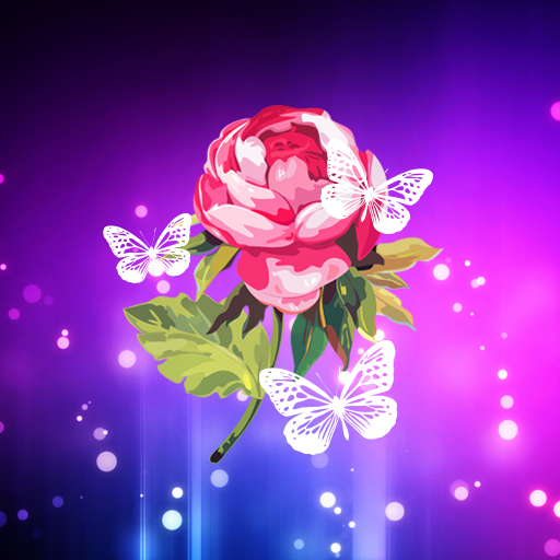 Abstract Flower Live Wallpaper