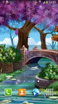 Magic Garden Live Wallpaper screenshot 1