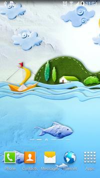 Paper World Live Wallpaper poster