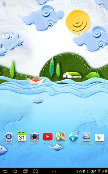 Paper World Live Wallpaper screenshot 4