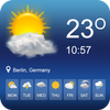 توقعات الطقس الحية أيقونة