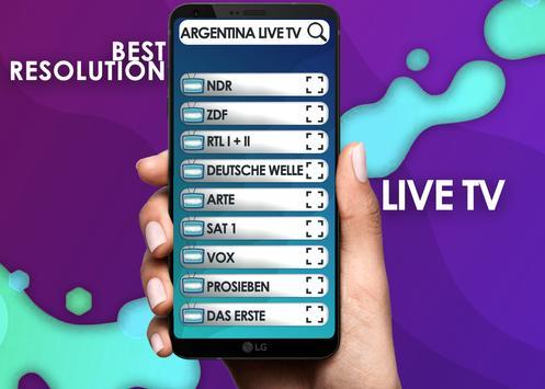 Television Argentina Live , Argentina  Tv Free screenshot 1
