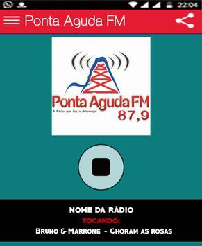 Ponta Aguda FM poster