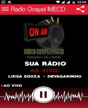 Rádio Gospel IMECD screenshot 1