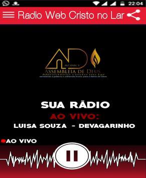 Radio Web Cristo no Lar screenshot 2
