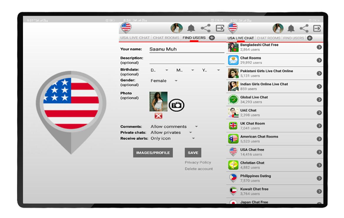 USA Live Chat - Free Dating App for Android - APK Download