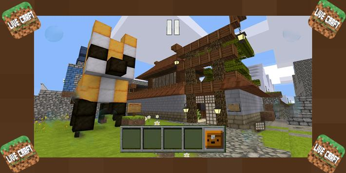 Live Craft : Creative And Survival Story Mode screenshot 1