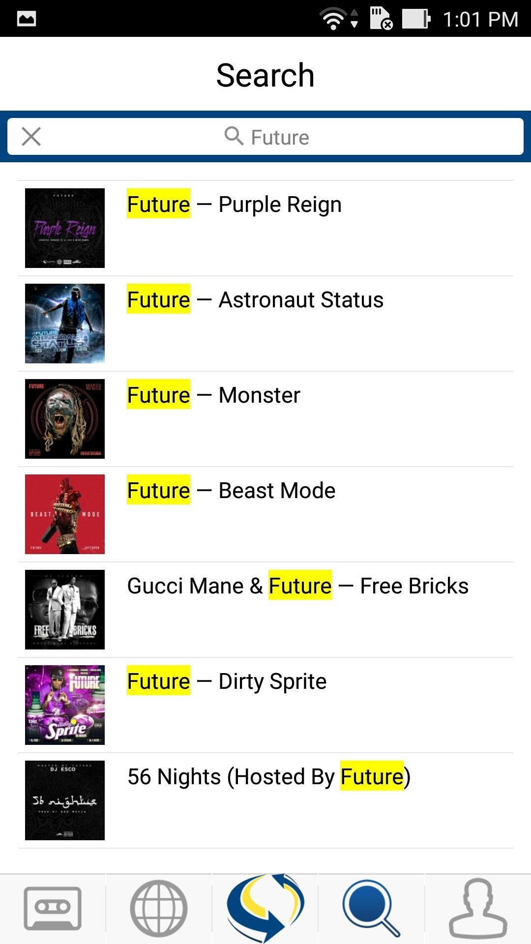 LiveMixtapes for Android - APK Download