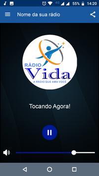 Web Rádio Vida poster