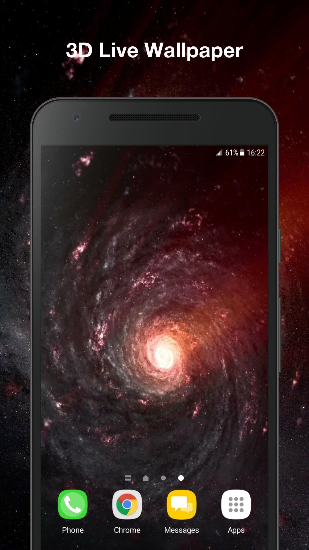 Android 用の ブラックホール アニメーション壁紙 Apk をダウンロード