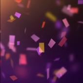 Real Confetti Live Wallpaper icon
