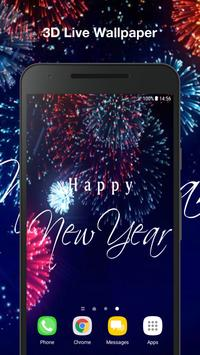 New Year Live Wallpaper poster