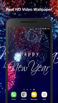New Year Live Wallpaper screenshot 3