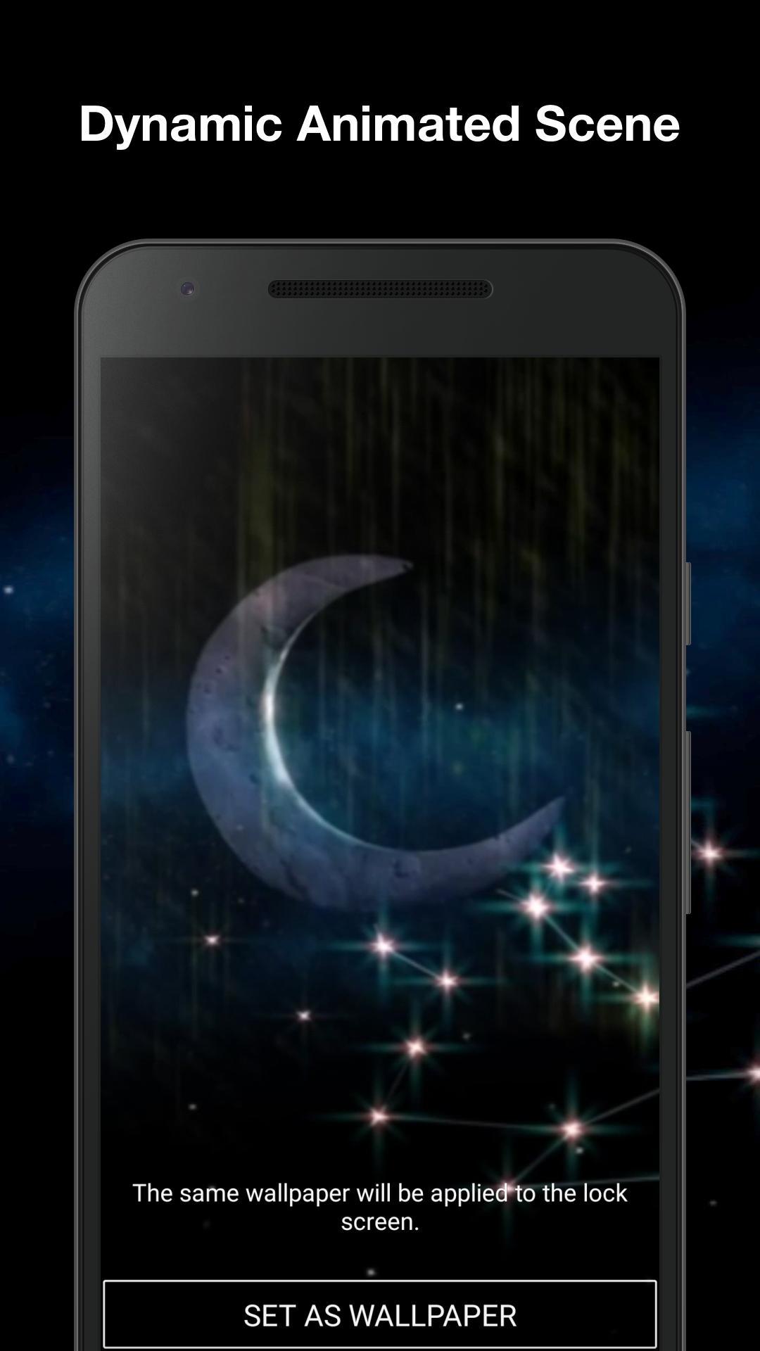 Android 用の 夜空 アニメーション壁紙 Apk をダウンロード