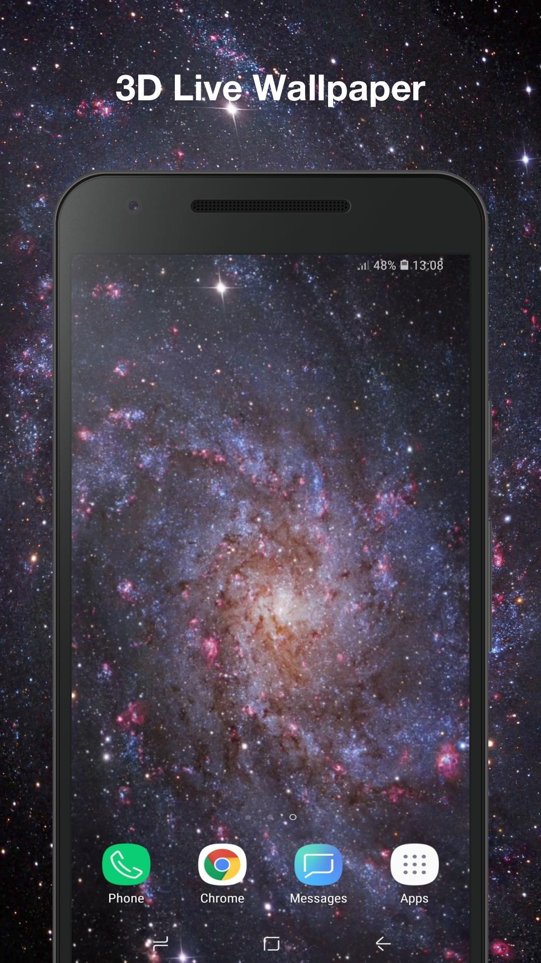 Android 用の 宇宙の粒子 アニメーション壁紙 Apk をダウンロード