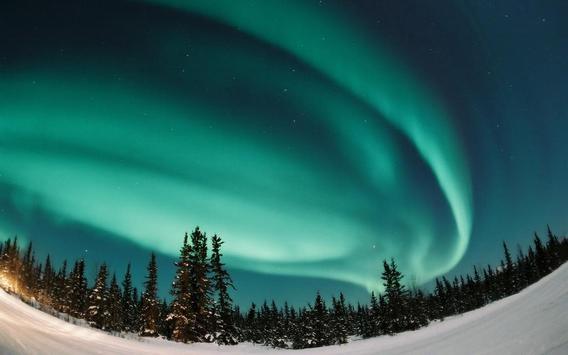 Северный пейзаж screenshot 1
