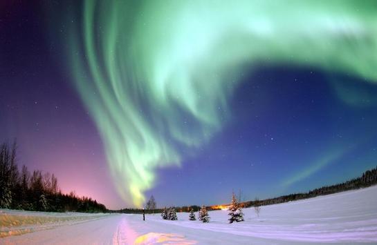 Северный пейзаж screenshot 3