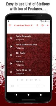 Crna Gora Radio Stanice 2.0 screenshot 1