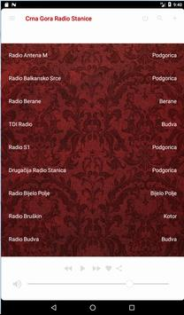 Crna Gora Radio Stanice 2.0 screenshot 7