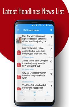 LFC - Liverpool FC News screenshot 1