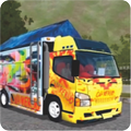 Livery Bussid Canter