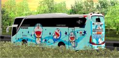 Livery Bussid Kartun Animasi