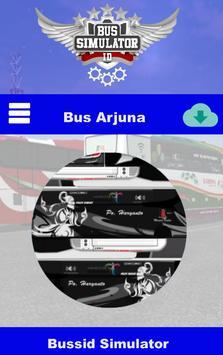 Livery Bussid Arjuna XHD screenshot 2