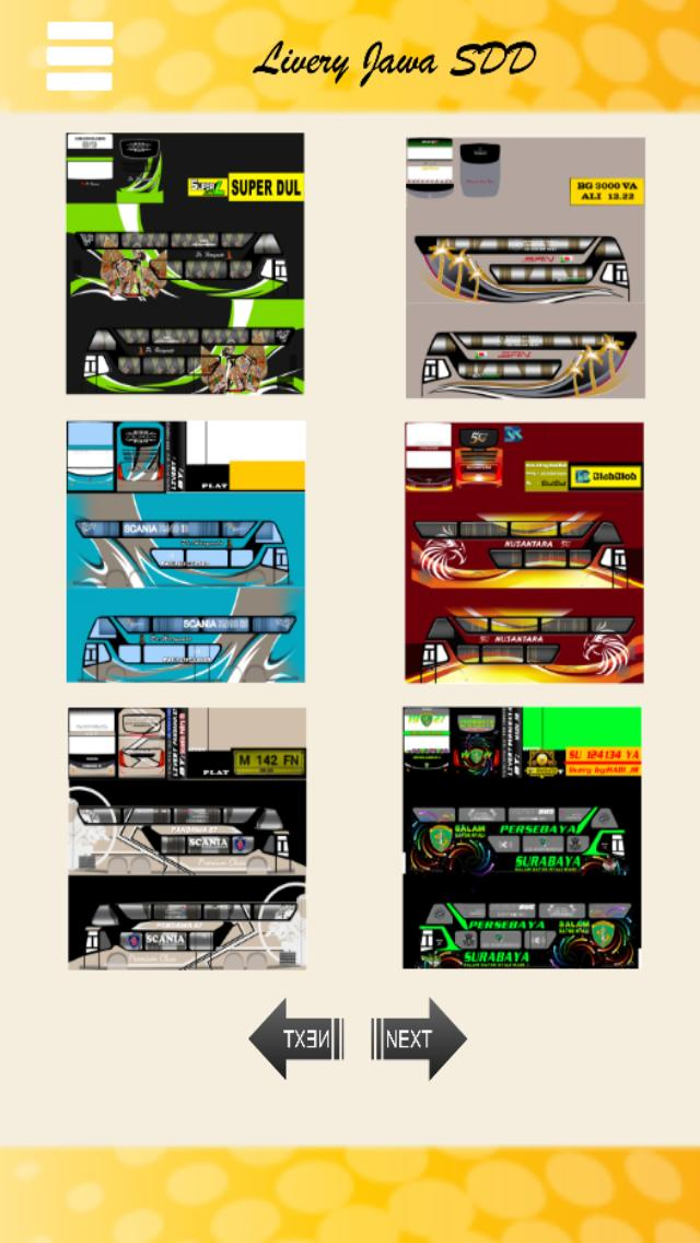 Livery Bussid Jawa Double Decker for Android - APK Download