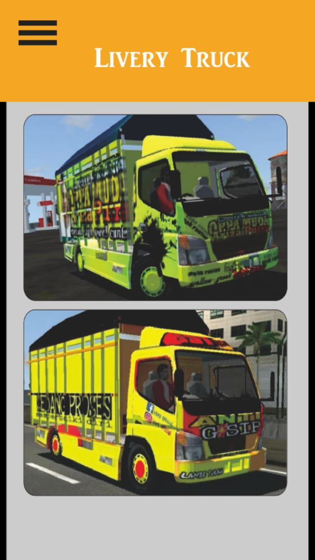 Livery Bussid Truck For Android Apk Download