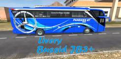 Livery Bussid Pandawa 87 JB3+