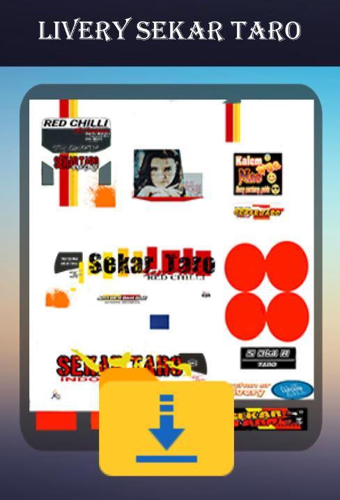 Download aplikasi msqrd Livery Bussid Sekar Taro