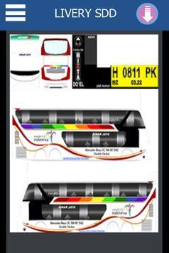 Livery Bussid Sinar Jaya SDD screenshot 2