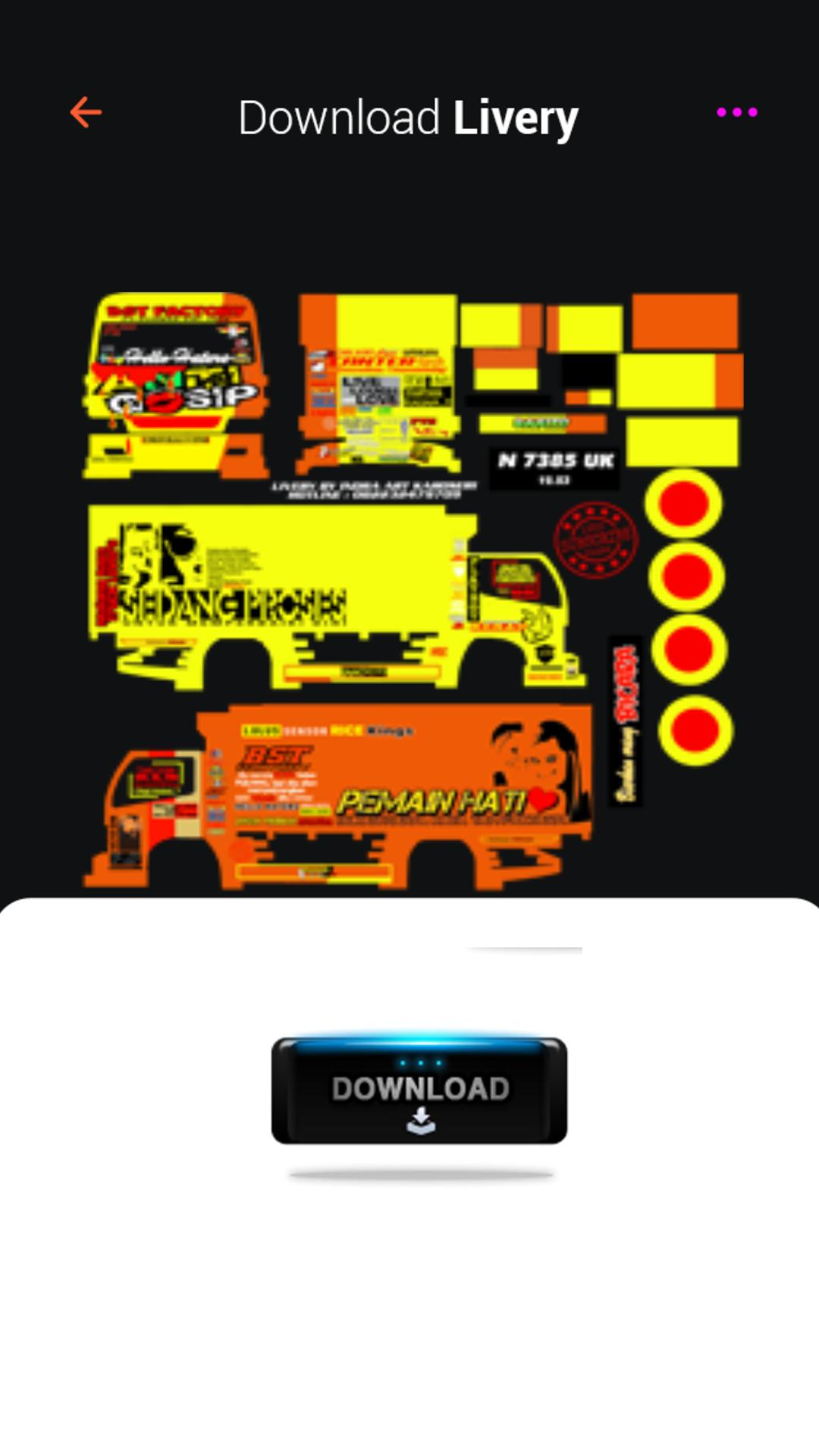 Mod Bussid Truck Angsa Putih For Android Apk Download