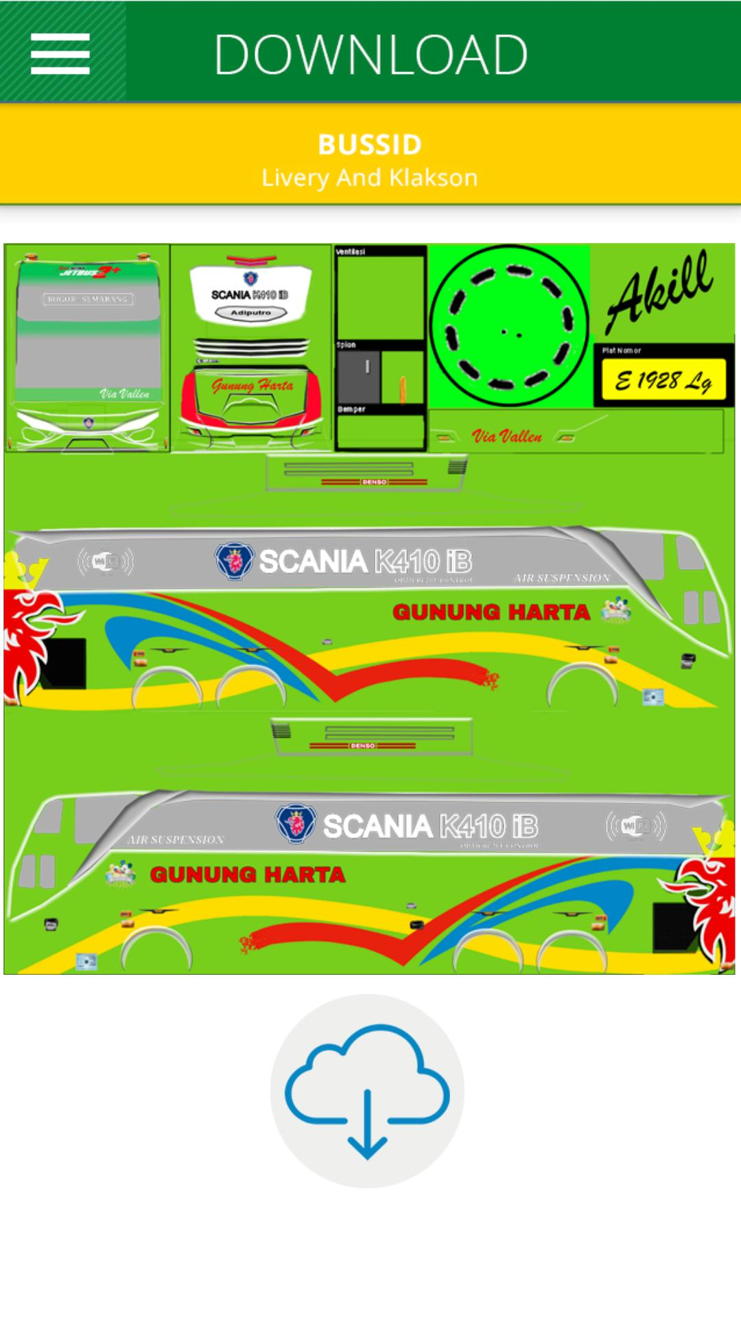 Livery Bus Gunung Harta For Android Apk Download