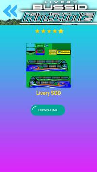 Livery Anime Bussid screenshot 3