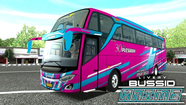 Livery Anime Bussid poster