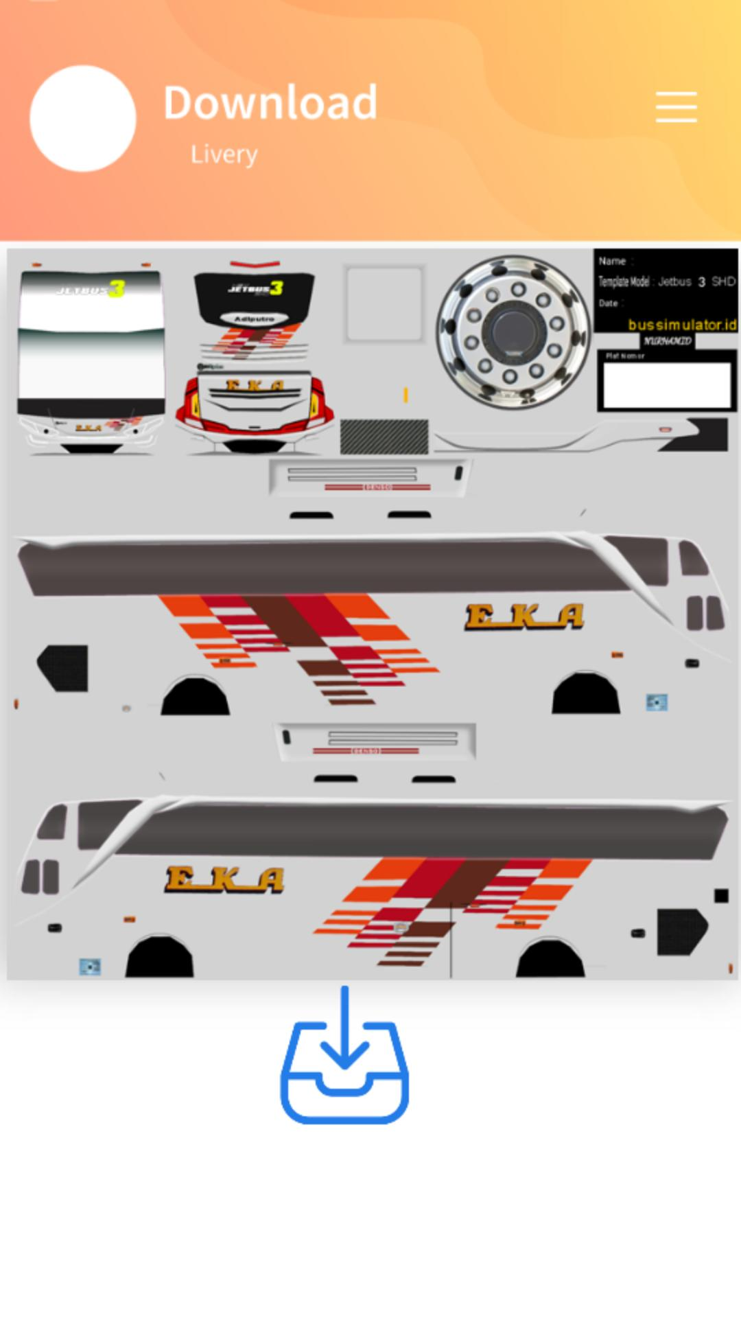 Livery Bussid Eka For Android Apk Download