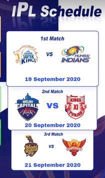 IPL Live cricket 2020 : Live Streaming & Score App screenshot 3
