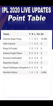 IPL Live cricket 2020 : Live Streaming & Score App screenshot 4