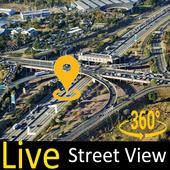 Gps live satellite view : Street & Maps icon