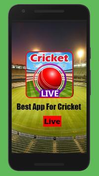 Live Cricket - BD Tri-series 2019 poster