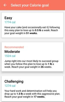 MyPlate Calorie Tracker screenshot 2