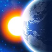 3D EARTH PRO - local weather forecast & rain radar أيقونة