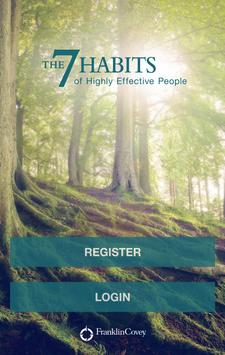 Living the 7 Habits poster