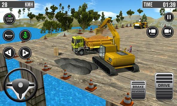 Building Construction 3D- Excavator Simulator 2019 screenshot 1