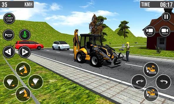 Building Construction 3D- Excavator Simulator 2019 screenshot 2