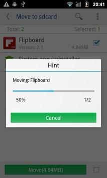Move app to SD card screenshot 1