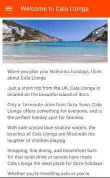 Free Cala Llonga Travel Guide (Ibiza) with Maps poster