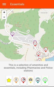 Free Cala Llonga Travel Guide (Ibiza) with Maps screenshot 4