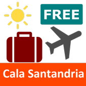 Free Cala Santandria Travel Guide with Maps icon